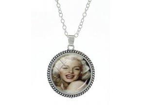 Přívěsek na řetízku - Marilyn Monroe