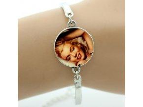 Náramek - Marilyn Monroe