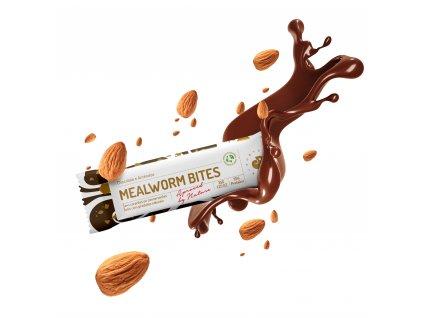 Chocolate e amendoa explosão