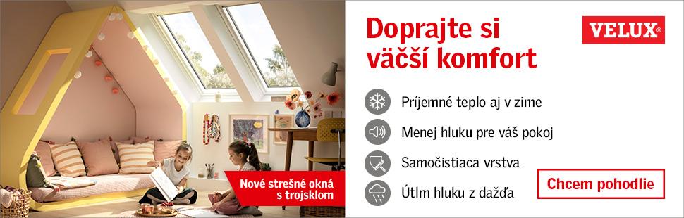 Nová kategória okien od VELUX-u