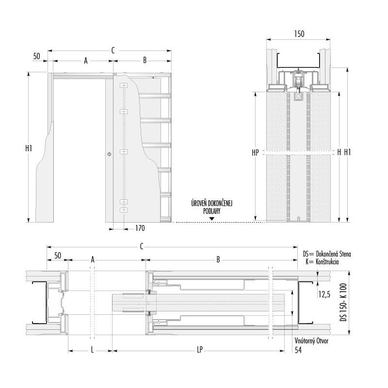 stavebne-puzdro-eclisse-syntesis-luce-jednokridlove-verzia-sadrokarton-hrubka-dok-steny-150mm-dverny-priechod-615x1993mm