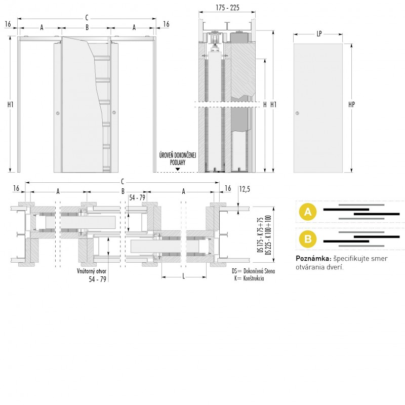 stavebne-puzdro-eclisse-zakryt-verzia-sadrokarton-hrubka-dokoncenej-steny-175-225mm-dverny-priechod-600x1970mm