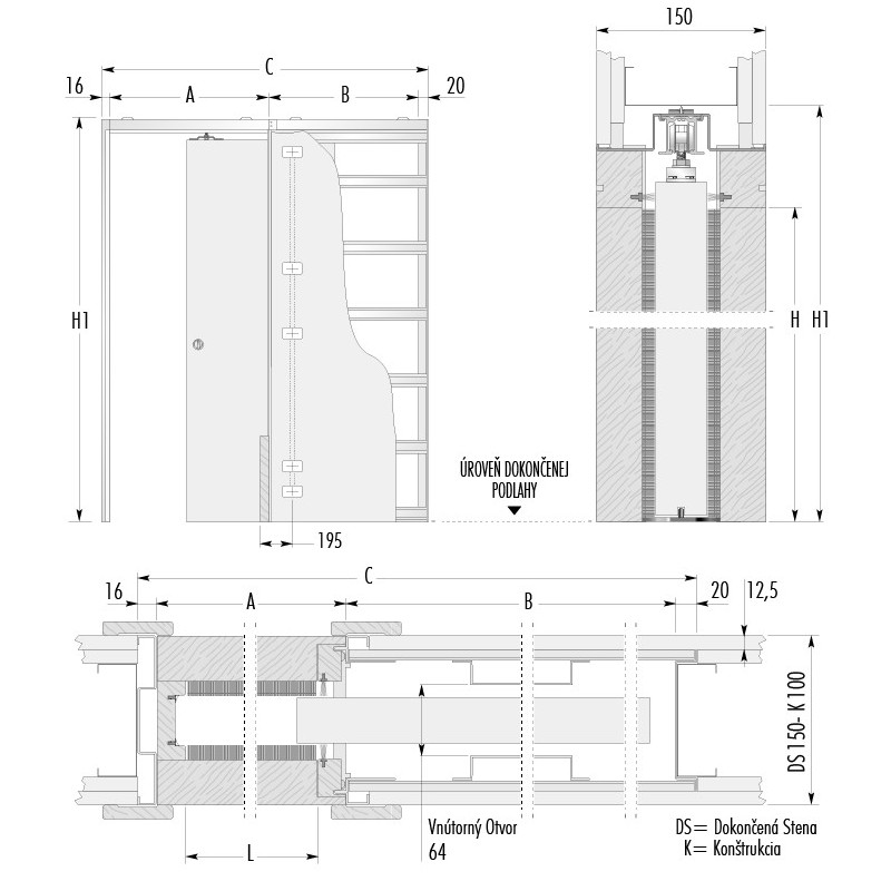 stavebne-puzdro-eclisse-luce-jednokridlove-verzia-sadrokarton-hrubka-dokoncenej-steny-150mm-dverny-priechod-1000x2100mm