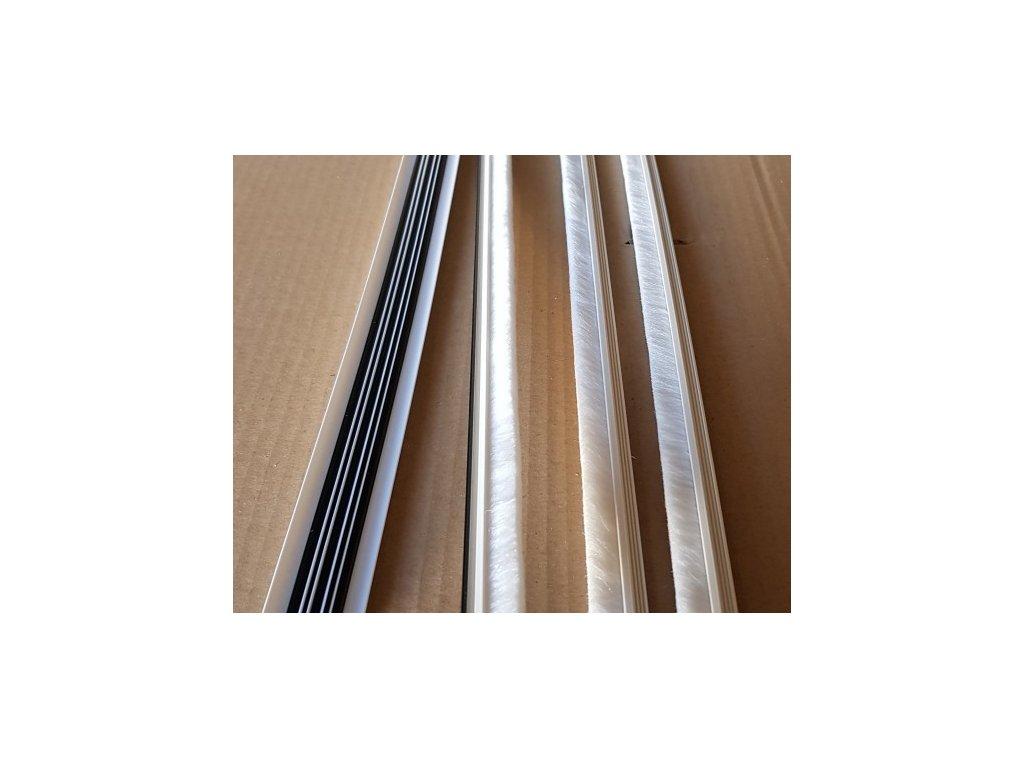 protiprachove stetiny 2150mm biele