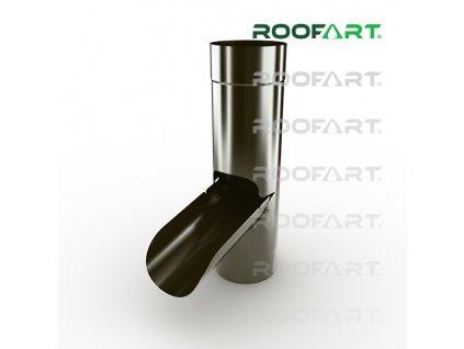 roofart klapka pre zber vody hneda