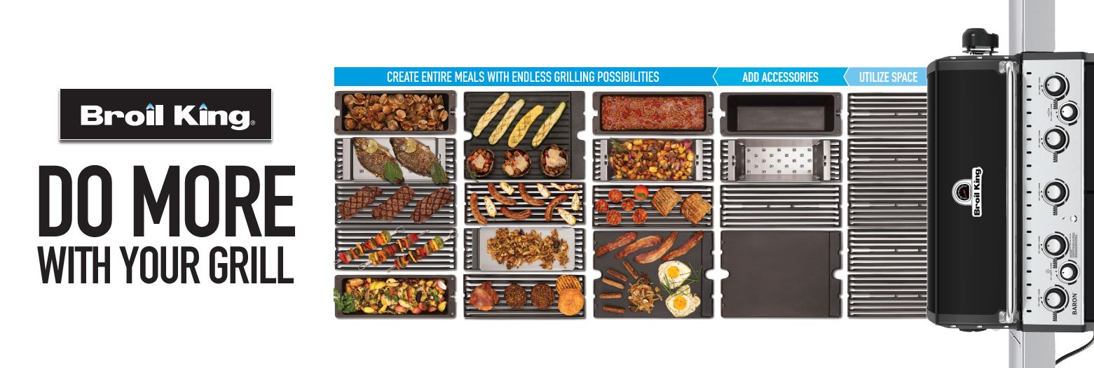 DO MORE WITH YOUR GRILL
