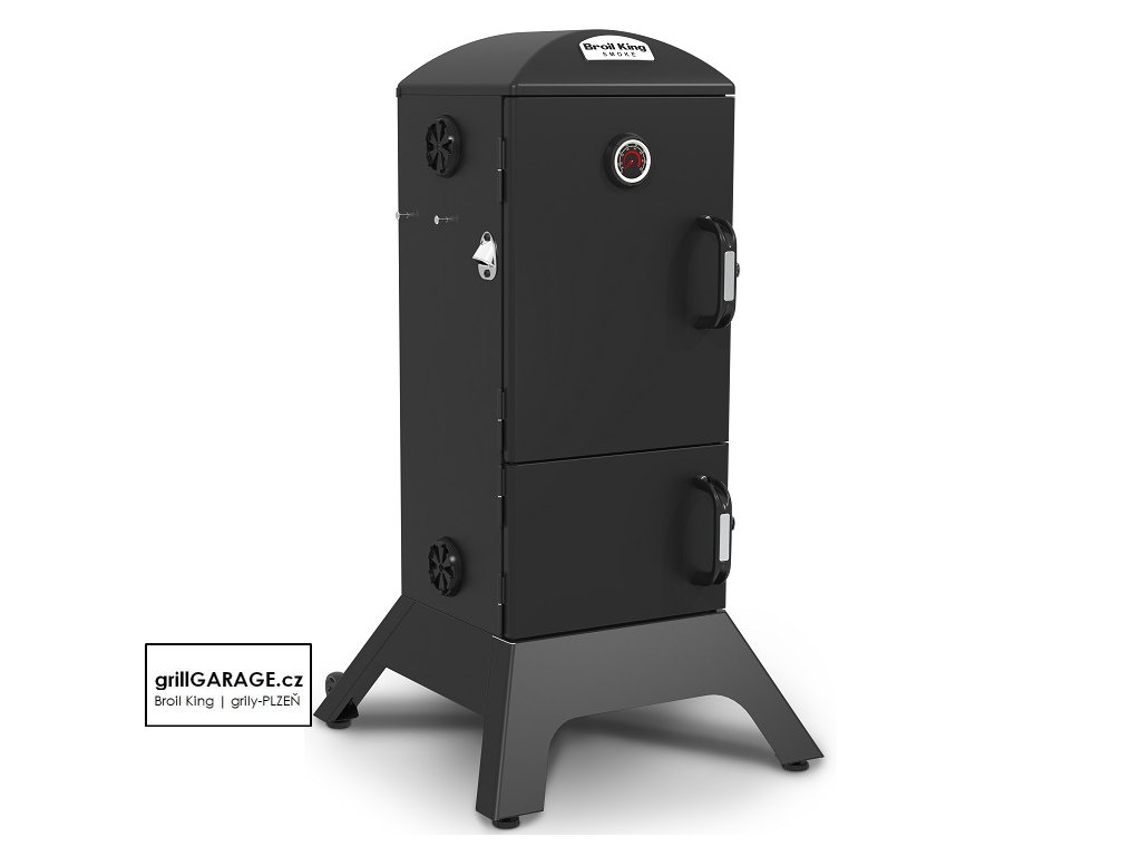 Broil King charcoal smoke grillGARAGE cz