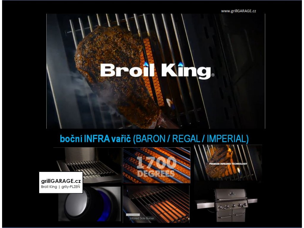 Broil King Regal 690 grillGARAGE cz