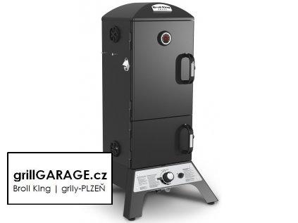 Broil King gas smoker vertical grillGARAGE cz