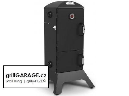 Broil King charcoal smoke grillGARAGE cz