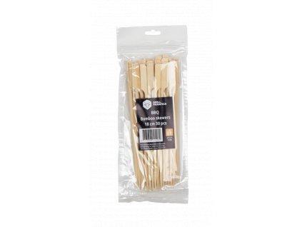 Bambusové špízy 18cm/30ks BBQ Grill Fanatics
