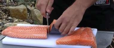 Jak připravit lososa na grilování