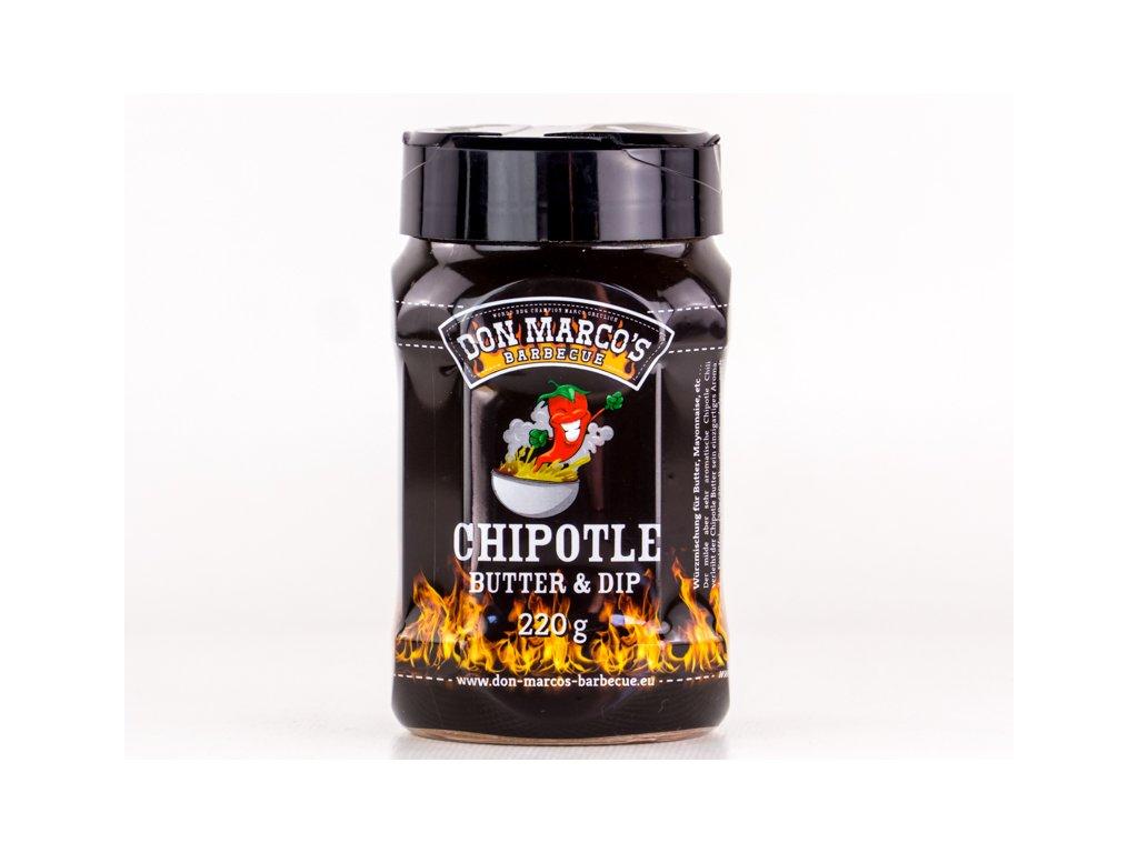 Grilovací koření Chipotle Butter & Dip, 220g