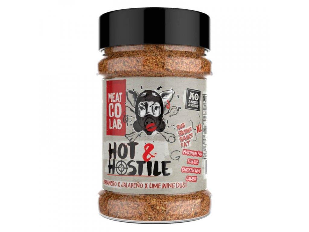 Grilovací koření Angus & Oink Hot N´ Hostile, 200 g