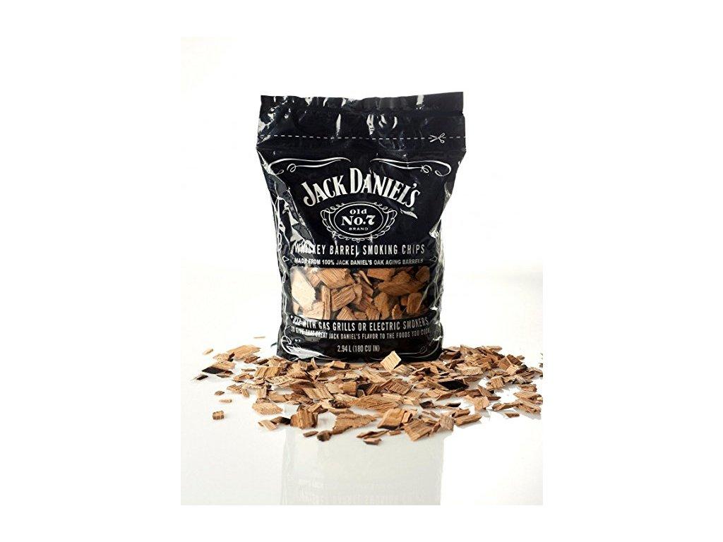 Dřevěné lupínky na uzení Jack Daniels