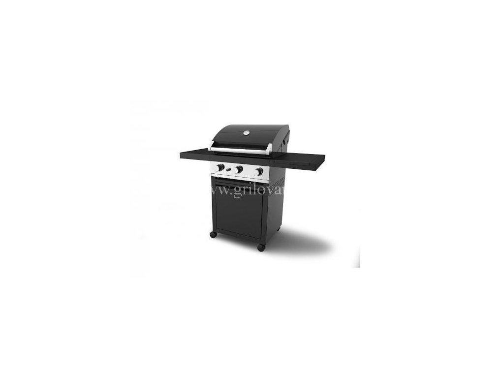 Plynový gril GrandHall Premium GT3 s bočním hořákem