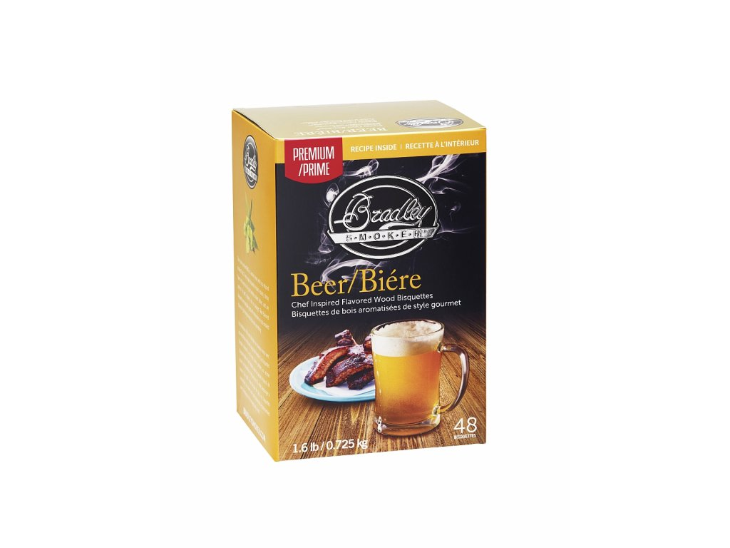 Udící briketky Premium Beer - 48ks