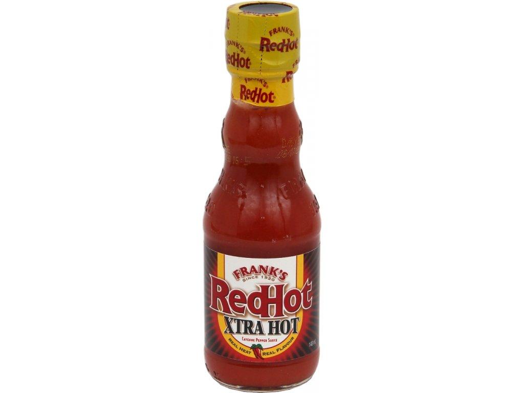 Omáčka Frank´s Red Hot Xtra HOT, 148 ml