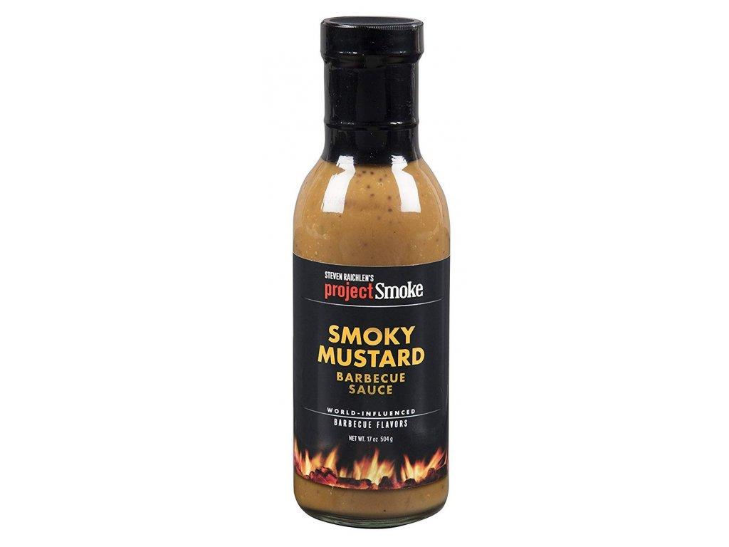 Grilovací omáčka Steven Raichlen´s Project Smoke Smoky Mustard, 504 g