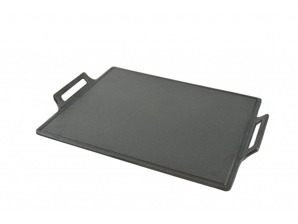 Litinová grilovací plancha  35 x 30 cm