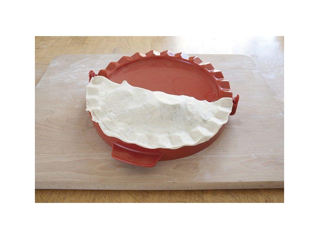 Velká forma na calzone pizzu 28 cm