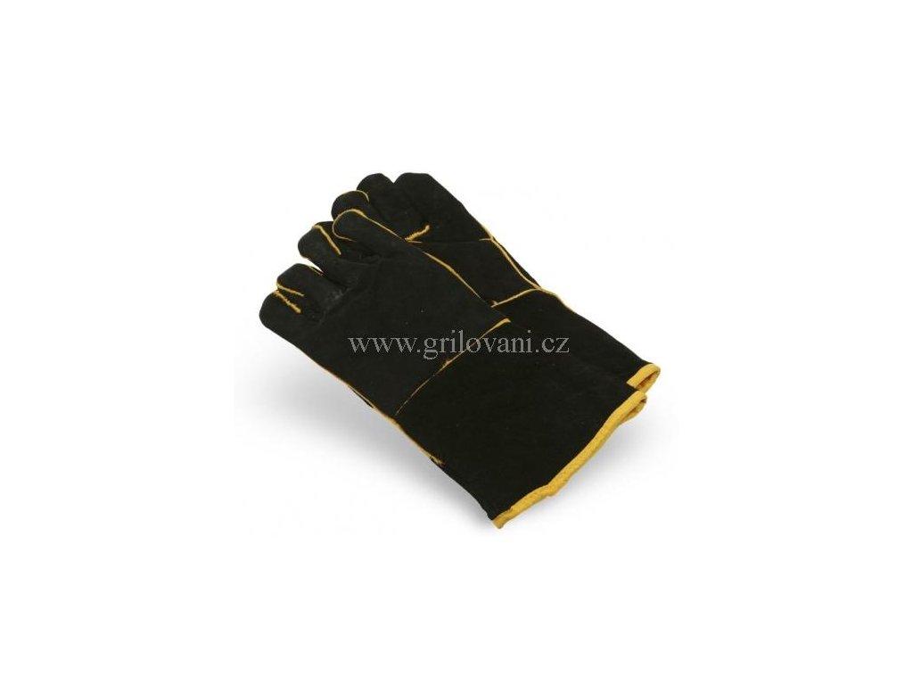 Kožené grilovací rukavice Smoky Fun