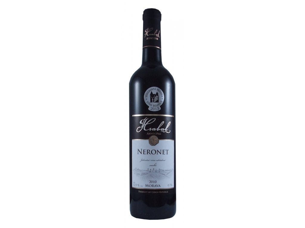 Víno Hrabal Neronet - jakostní víno odrůdové 2010