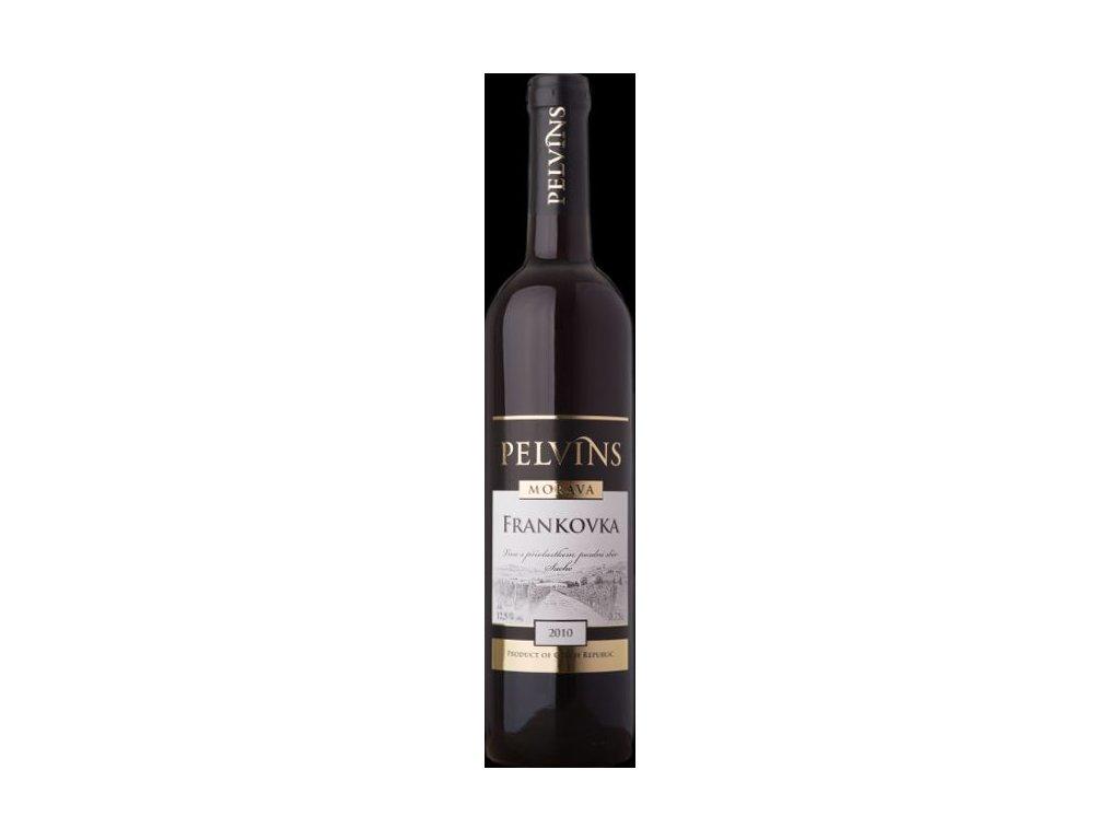 Víno Pelvins Frankovka - pozdní sběr 2010