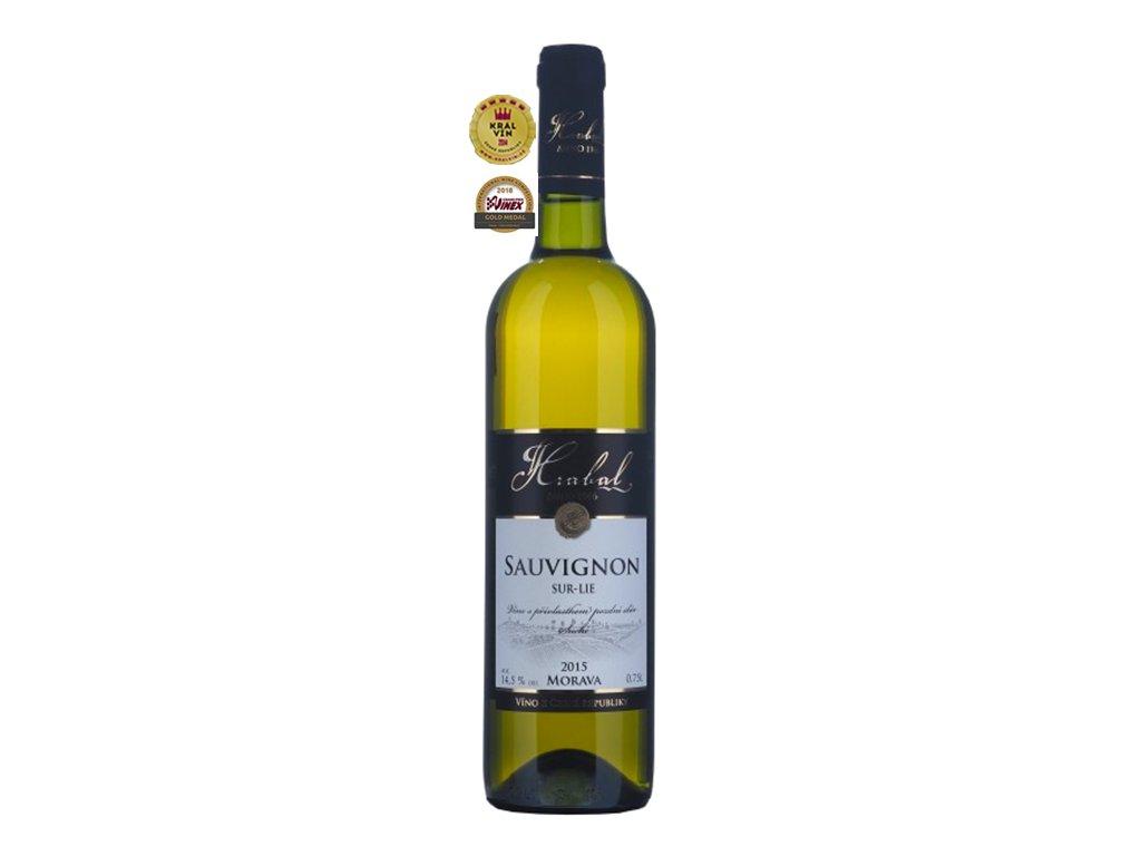 Víno Hrabal Sauvignon - pozdní sběr, sur-lie 2015