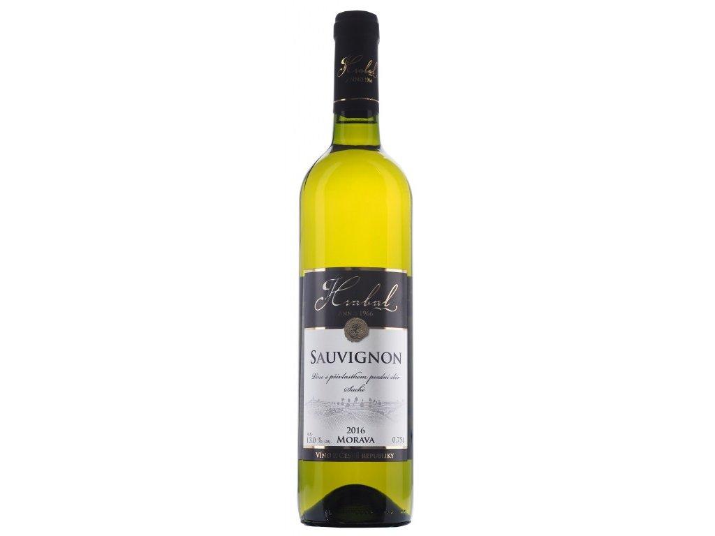 Víno Hrabal Sauvignon - pozdní sběr, Sur lie 2016