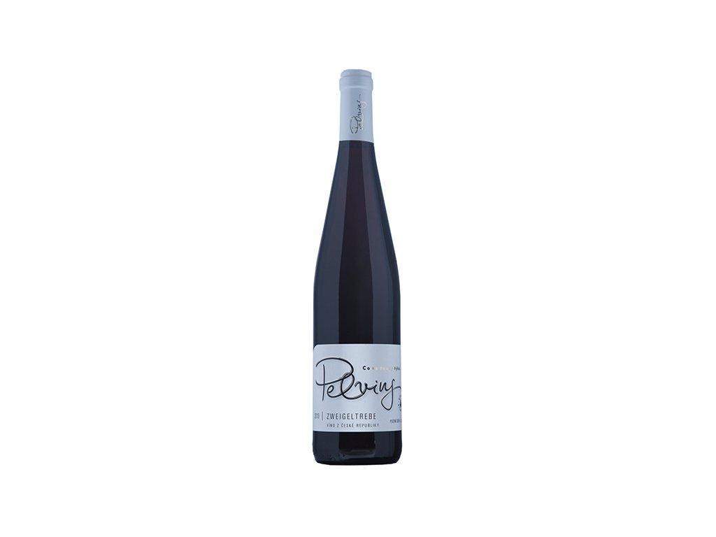 Víno Pelvins Zweigeltrebe - pozdní sběr 2017