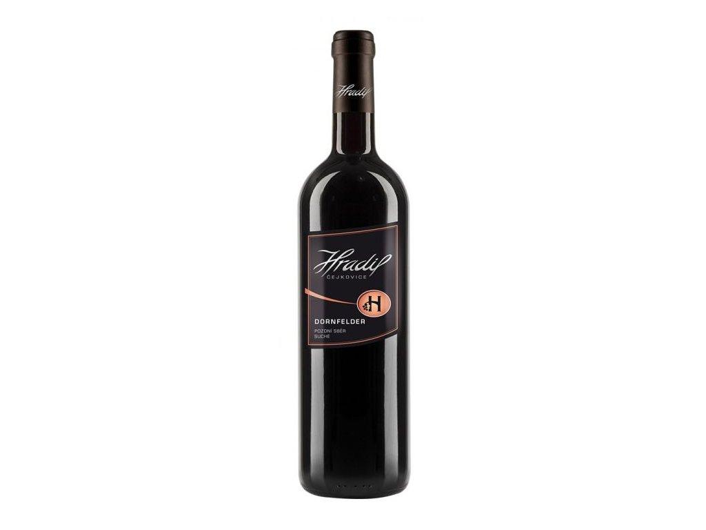 Víno Hradil Dornfelder - pozdní sběr 2017