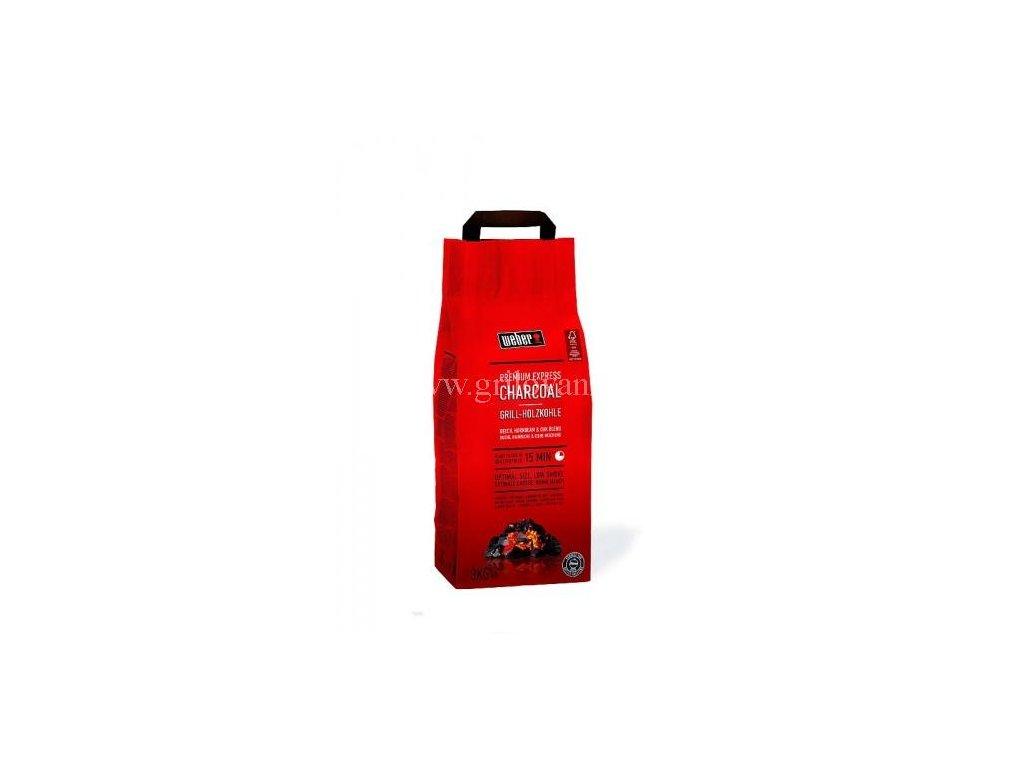 Dřevěné uhlí Weber Express Premium 5kg