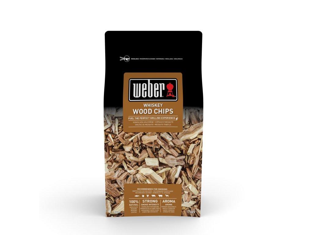 Weber dřevěné lupínky k uzení WHISKEY