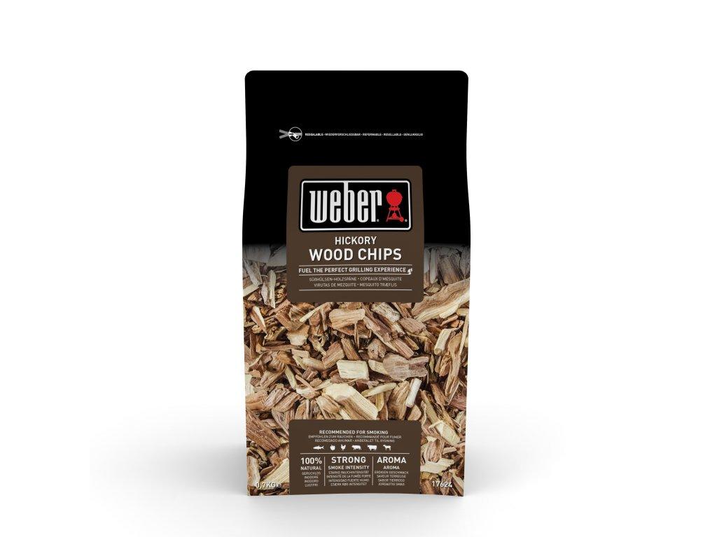Weber dřevěné lupínky k uzení HICKORY