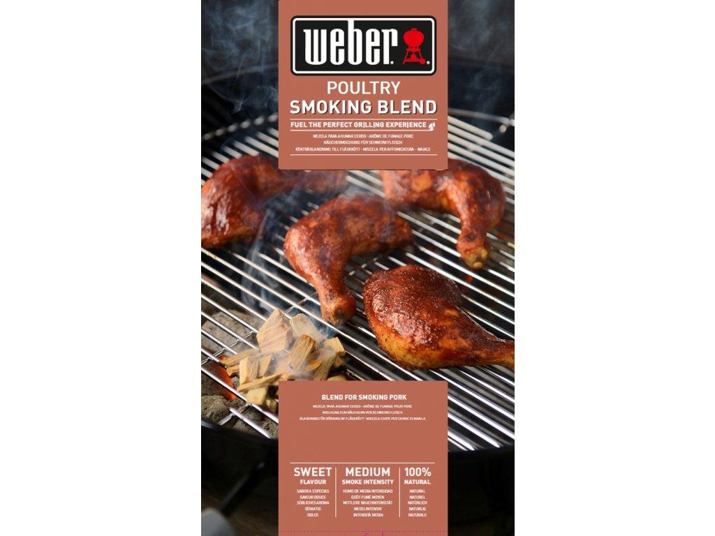 Weber dřevěné lupínky k uzení DRŮBEŽÍHO MASA