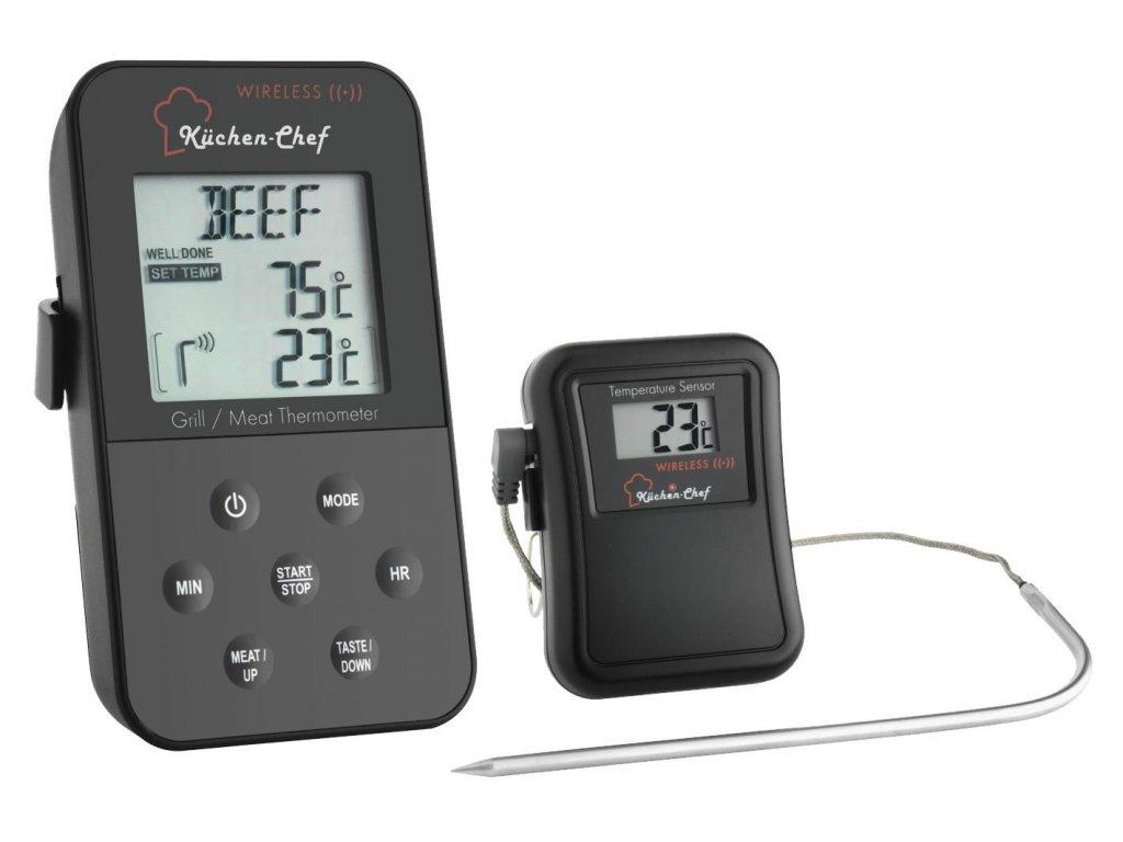 Bezdrátová digitální termosonda na měření vnitřní teploty masa