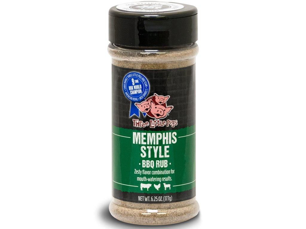 "BBQ koření Three Little Pigs ""Memphis-Style"", 177 g"