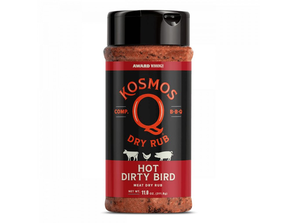BBQ koření Kosmo´s Q Dirty Bird HOT, 311 g