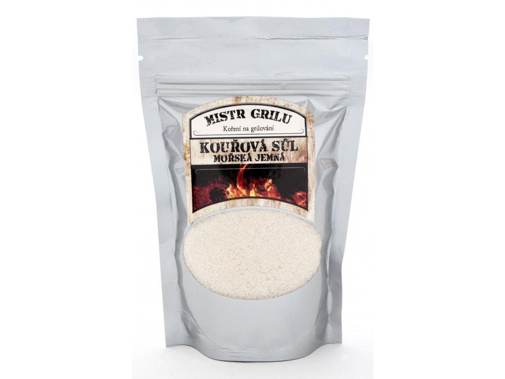 Kouřová mořská sůl - jemná, 250g