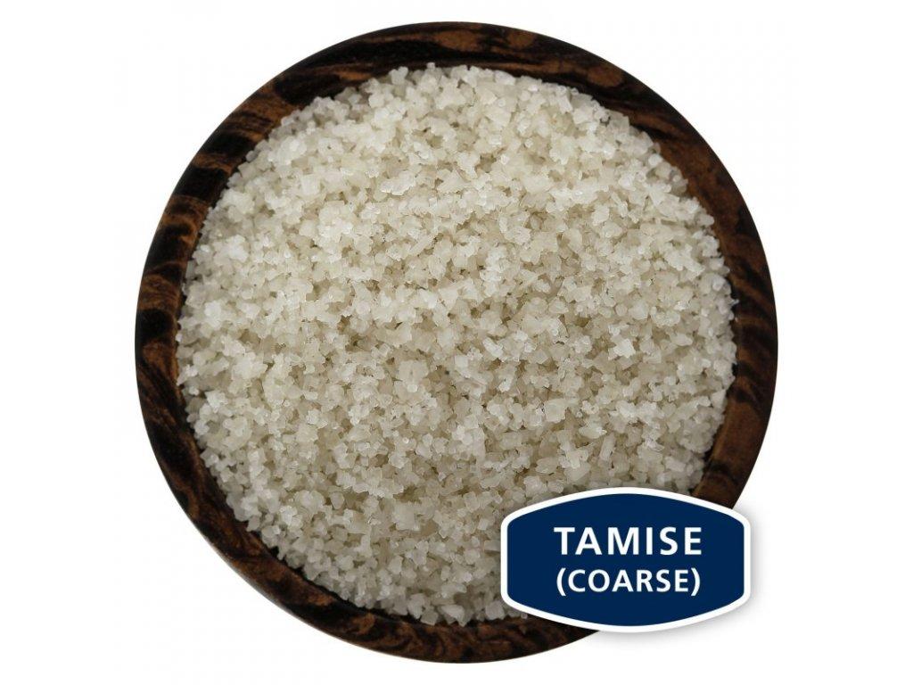 SEL GRIS Tamisé - francouzská šedá mořská sůl, 100g