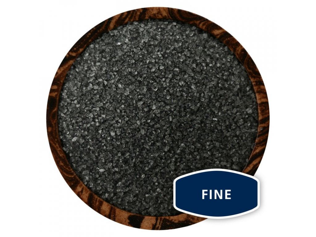 Černá havajská mořská sůl - Fine, 100 g