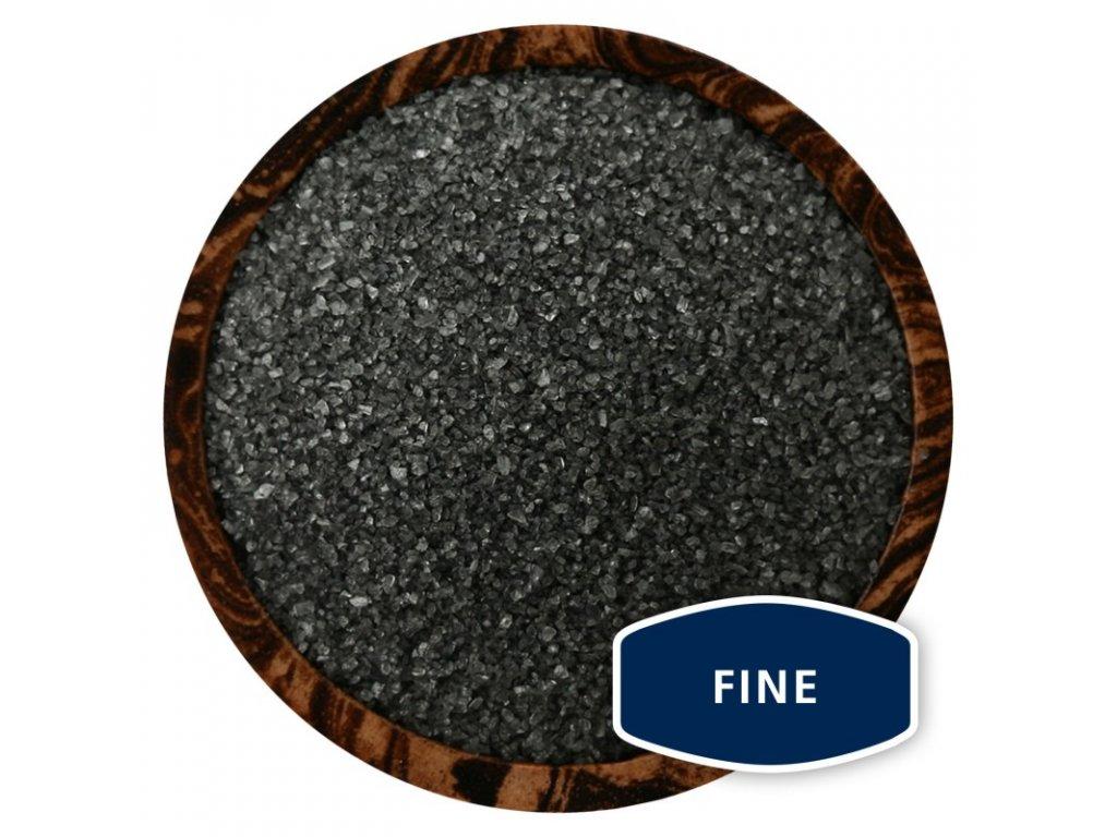 HIWA KAI Fine - černá havajská mořská sůl, 100g