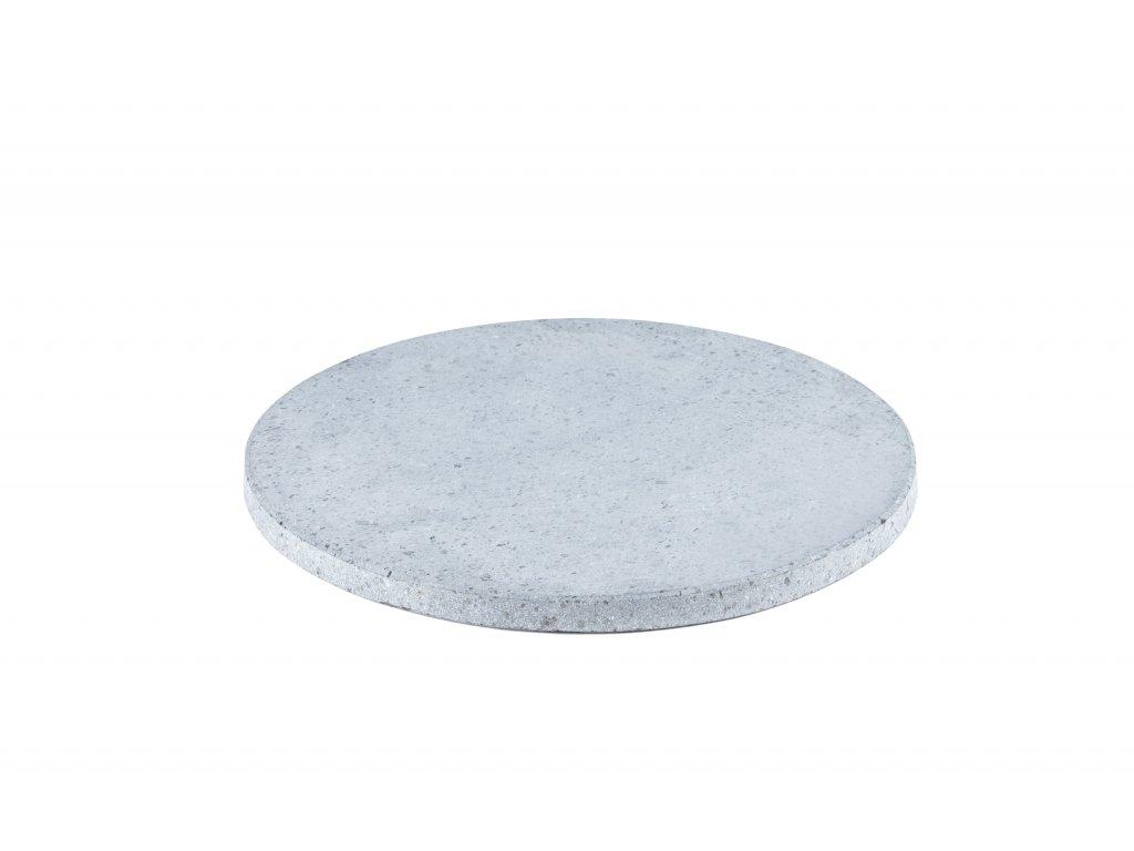Pečící kruhový lávový kámen 30 cm