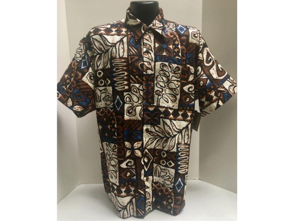 Košile Tahiti Tapa XL