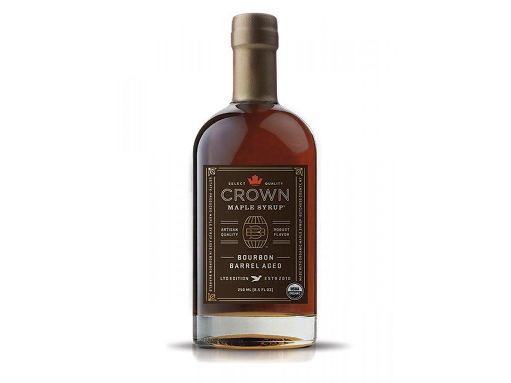 Javorový sirup Crown Maple Bourbon Barrel Aged, 250 ml