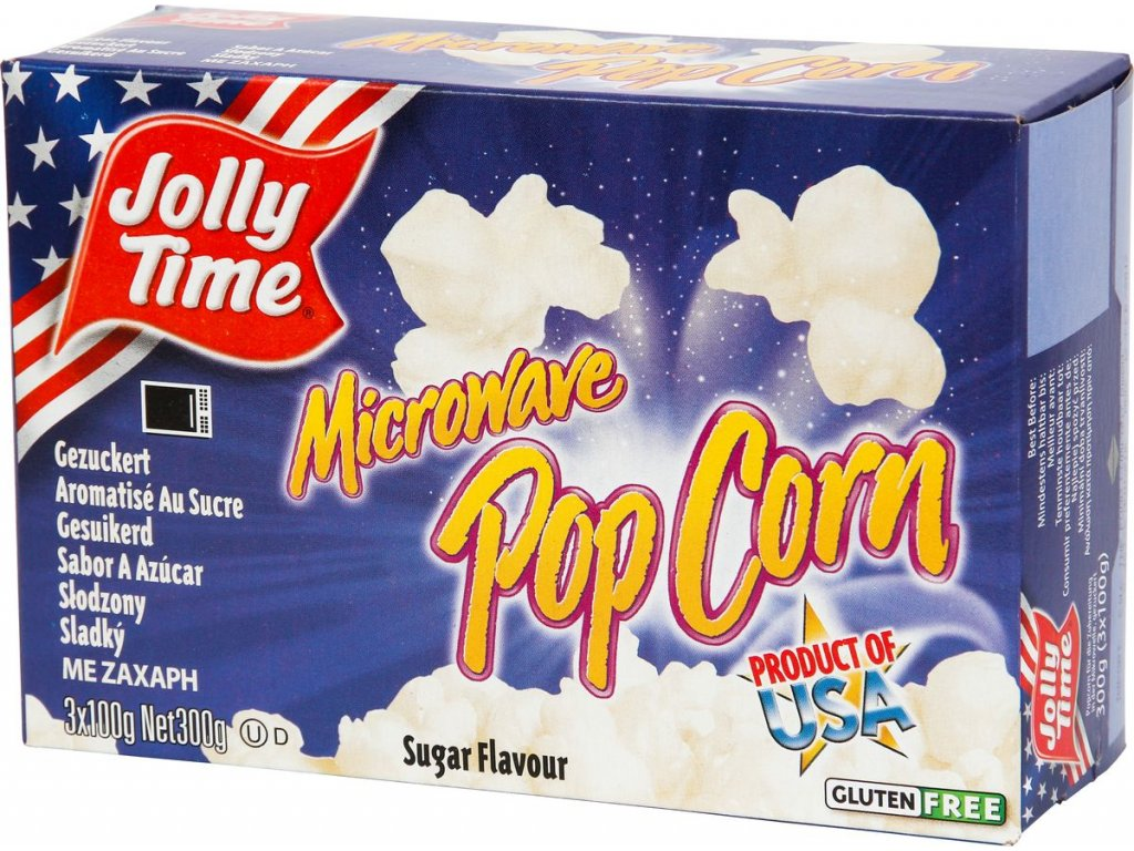 Popcorn Jolly Time Sugar, 3x100g