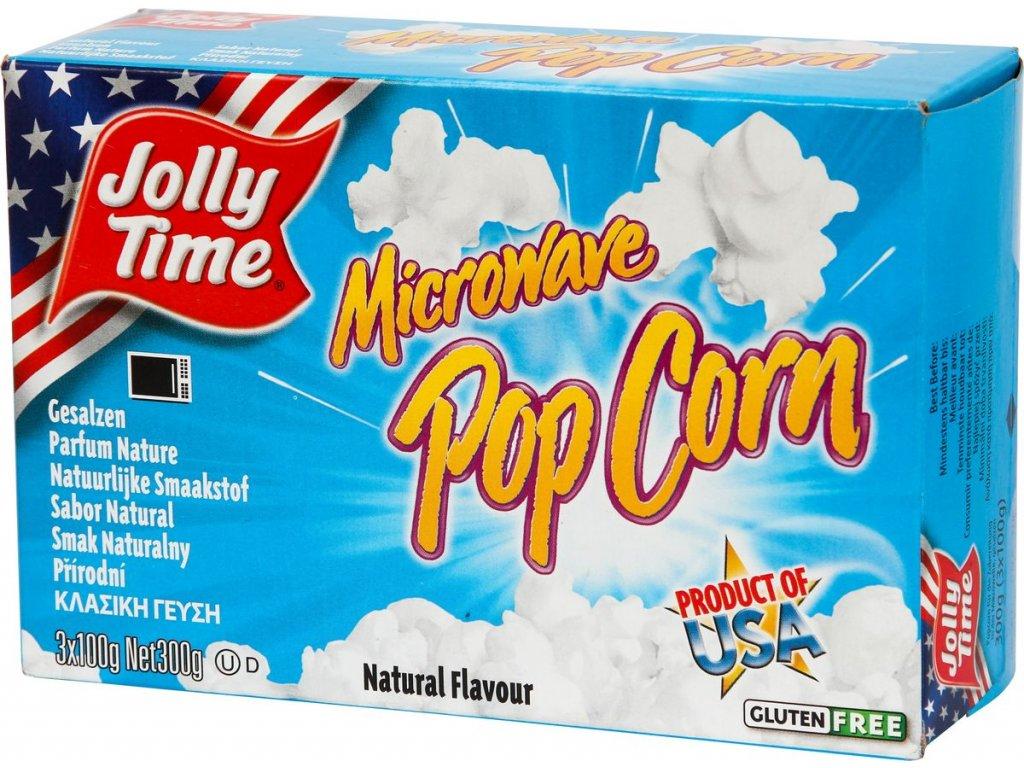 Popcorn Jolly Time Natural, 3x100g