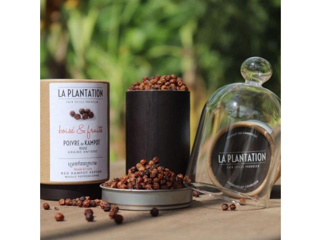 Kampotský pepř červený 50g
