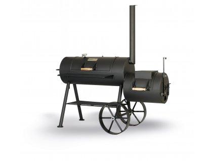 Gril na dřevo Smoky Fun Party Wagon 6 Reverse Flow